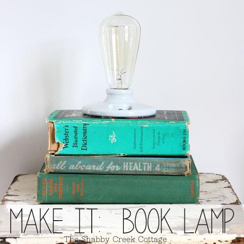 DIY Vintage-Style Ceramic Lamp