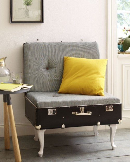 12 DIY Vintage Suitcase Crafts For Home Décor
