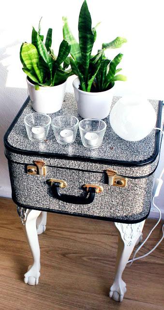 retro suitcase bedside table (via lanared)