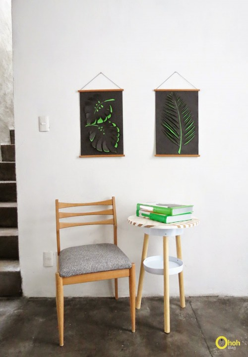 Diy Voluminous Paper Wall Art