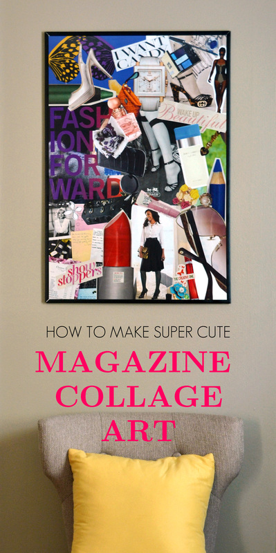 Diy Wall Art Collage : Diy wall art collages for d?cor shelterness