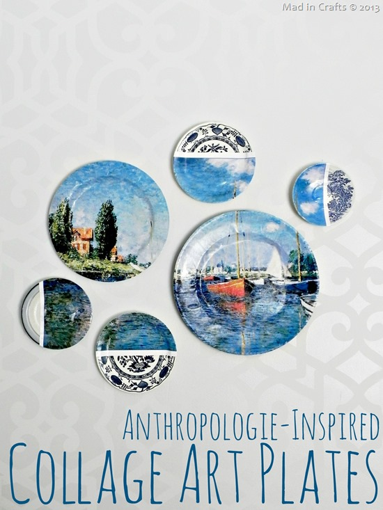 anthropologie inspired collage