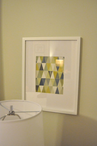 Diy Wall Art Of Paint Chips