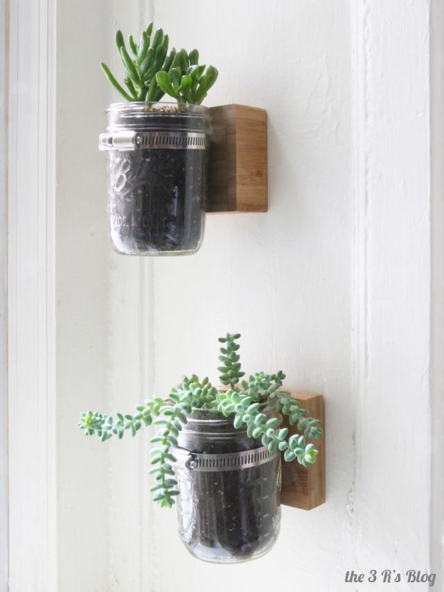 Diy Wall Mason Jar Planter