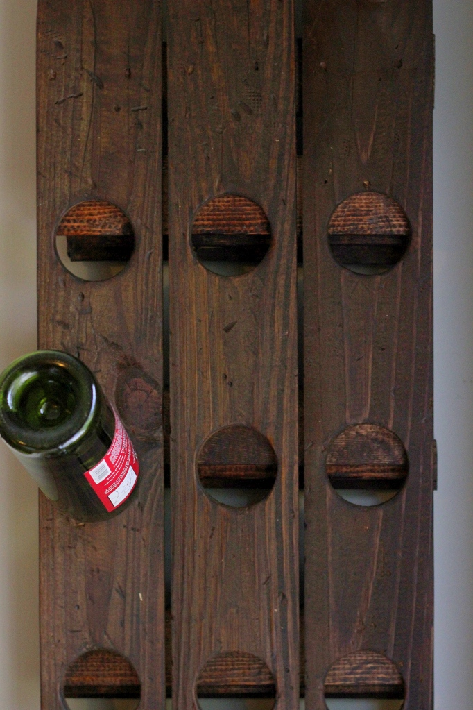 Wine Glass Shelves Wall Mount Diy Wall Mount Riddling Wine