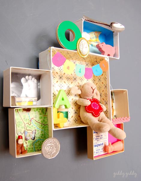 Diy Wall Storage To Display Memories