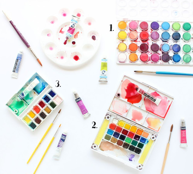 Picture Of diy watercolor art piece for beginners  2