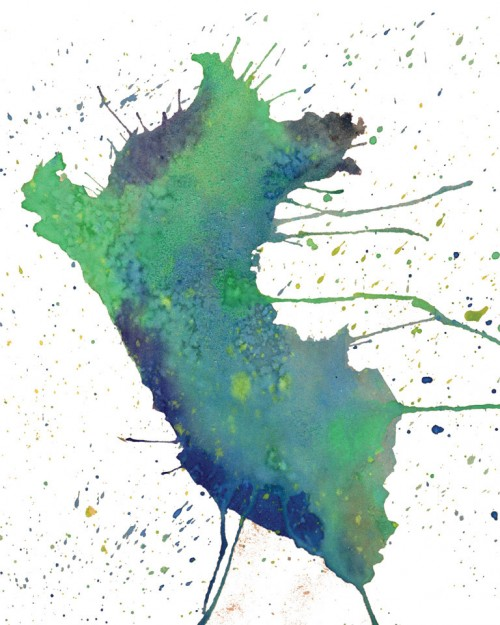 state watercolor art
