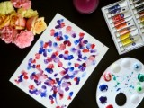 easy watercolor wall art