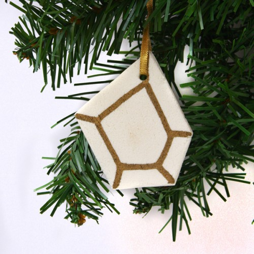 geo ornaments (via makeandfable)