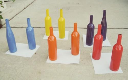 Diy Wine Bottle Centerieces