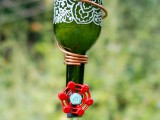 Diy Wine Bottle Hummingbird Feeder