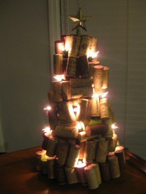 Diy Wine Cork Christmas Tree