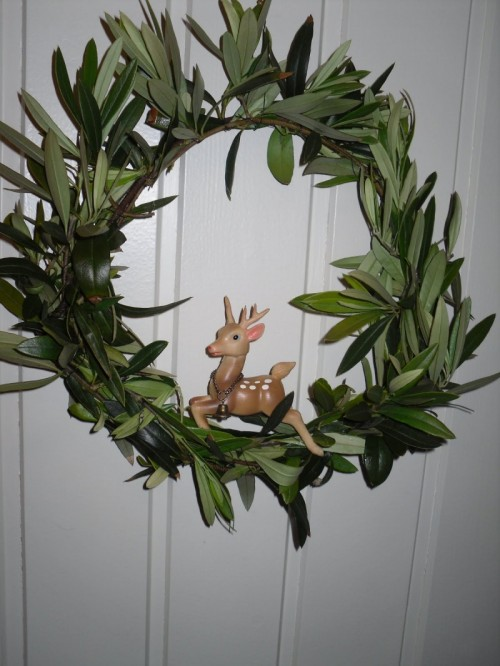 Bambi Olive Wreath (via)