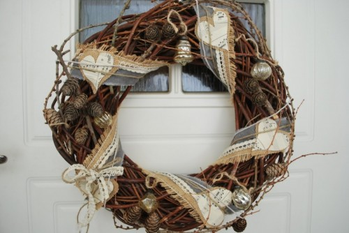Larch Wreath (via)