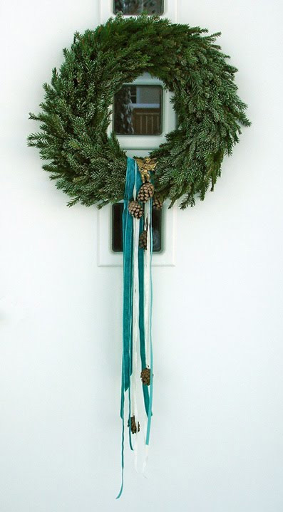 Pine Needles Wreath (via)