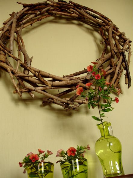Twigs Wreath (via)