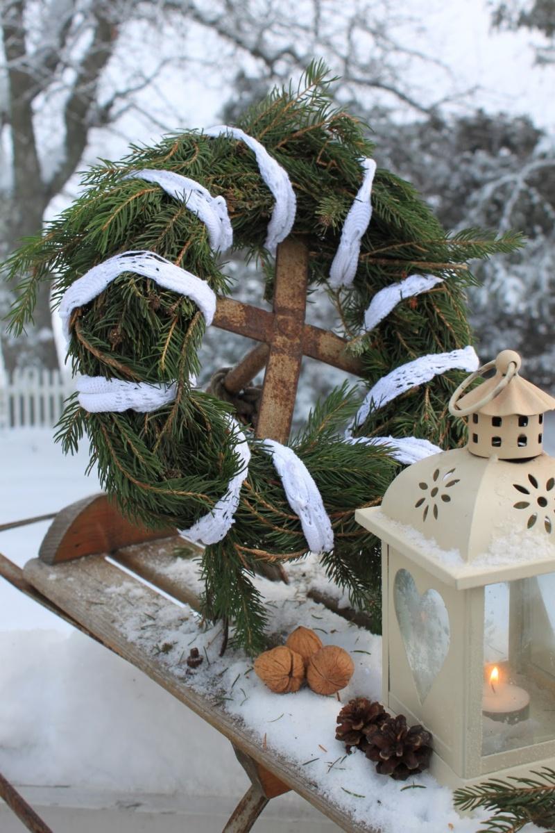 Picture Of Diy Winter Wreath