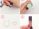 Diy Wire Heart Ring