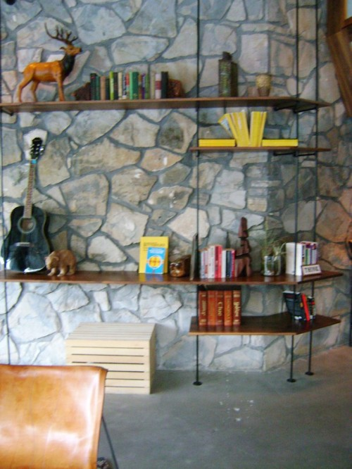 DIY shelving unit
