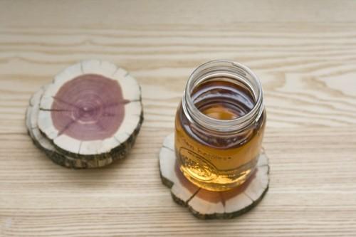 Cute And Simple DIY Wood Coasters