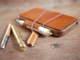 Diy Wood Leather Iphone Case