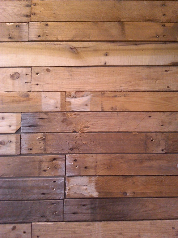 Diy Wood Pallet Wall | Shelterness