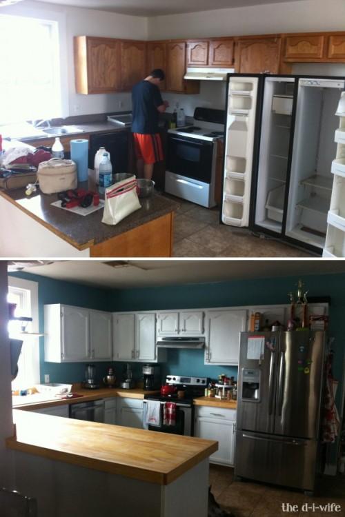 Kitchen Countertop Via Thediwife