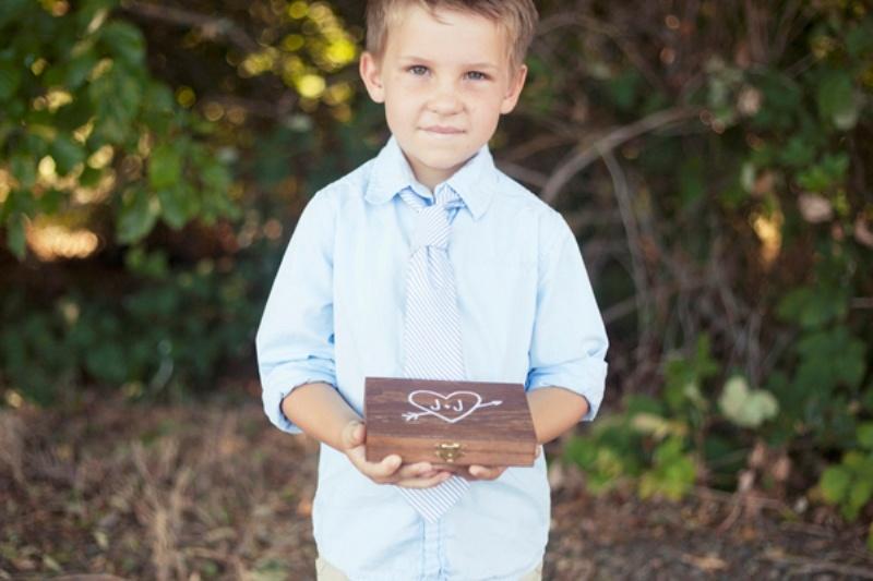Diy Wooden Ring Bearer Box