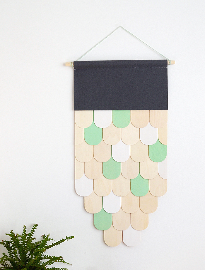 Wall Hanging Picture Diy : Picture of diy wooden wall hanging for home decor