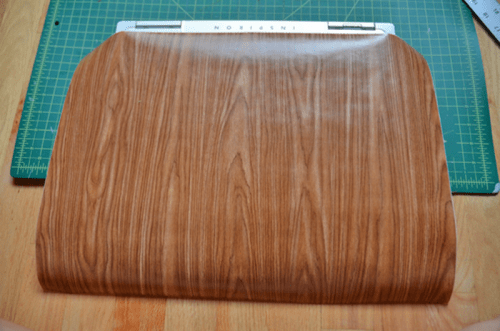 Diy Woodgrain Laptop Skin Renovation