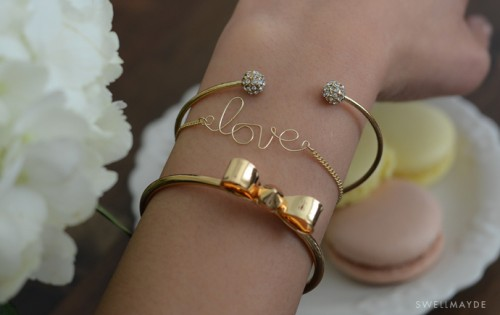 Diy Word Bracelet With Tassel