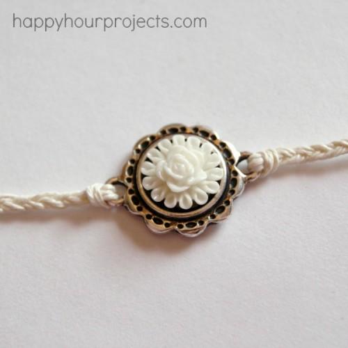 Diy Woven Ankle Bracelet