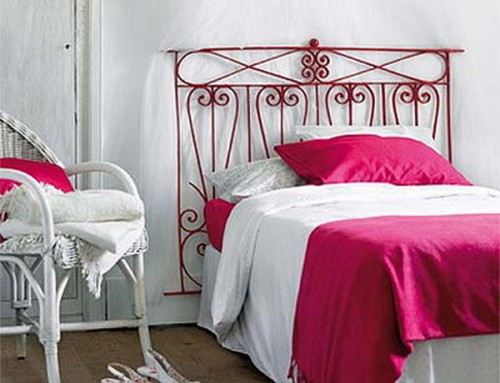 Nice DIY Wrought Iron Headboard For Lovers Of French Country Style