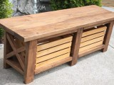 diy-x-leg-wooden-banch-with-crate-storage-1