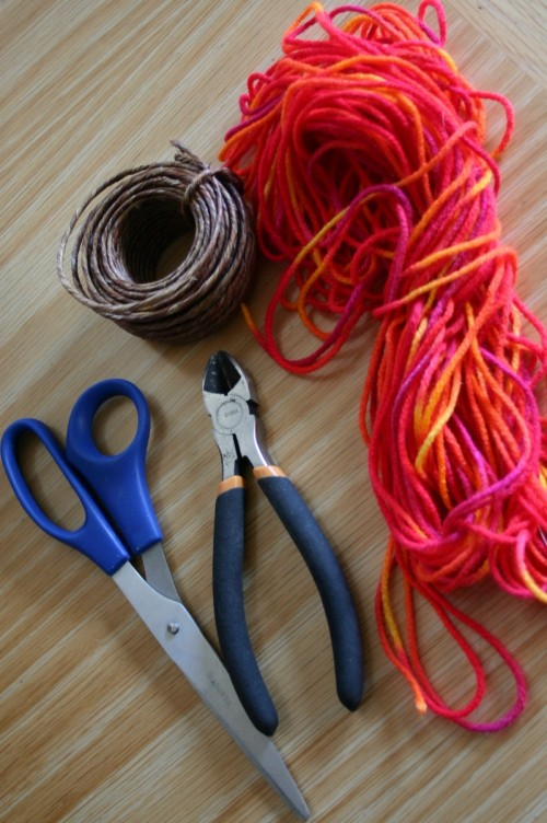 Diy Yarn Hearts