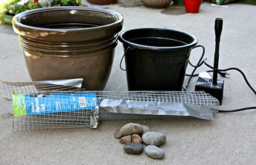 Diy Zen Like Patio Fountain