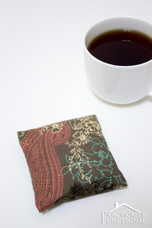 scented hot pad coaster (via practicallyfunctional)