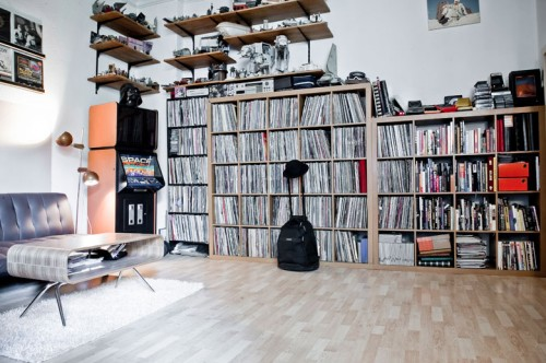 Interior Design Of Real DJ Apartment