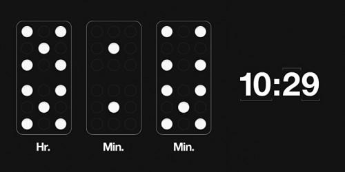 Domino Wall Clock