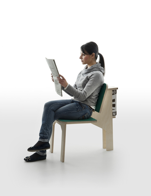 Versatile Chair Combined With A Working Desk