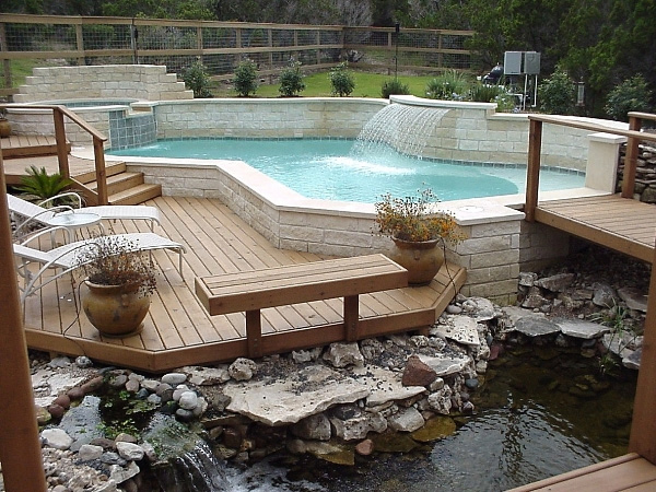 Decks Design Ideas exclusive materials for pool deck design ideas sparkling lights for modern home design using wooden pool deck pool ideas Picture Of Dream Deck Design Ideas