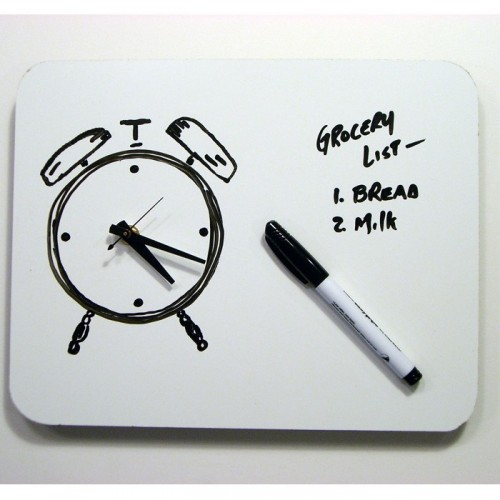 5 Very Practical Whiteboard Message Clocks