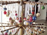 Drying Rack As Christmas Tree