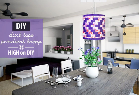 9 Extremely Easy Duct Tape DIYs For Home Décor