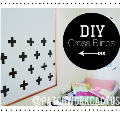 duct tape cross blinds  (via patchworkcactus)