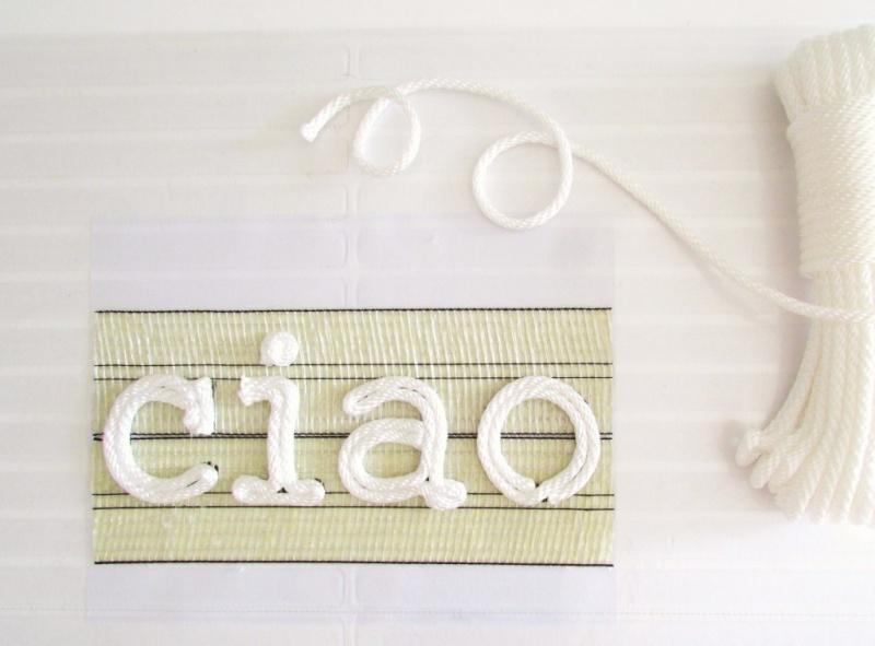 Picture Of durable diy ciao rope door mat  4