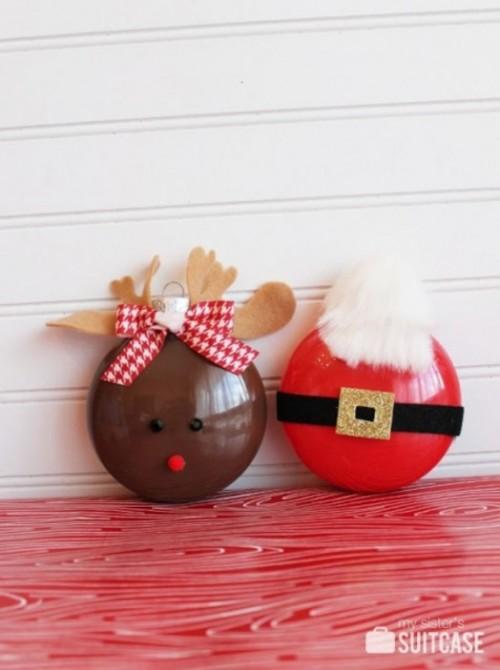 Snata ornament (via kidsomania)