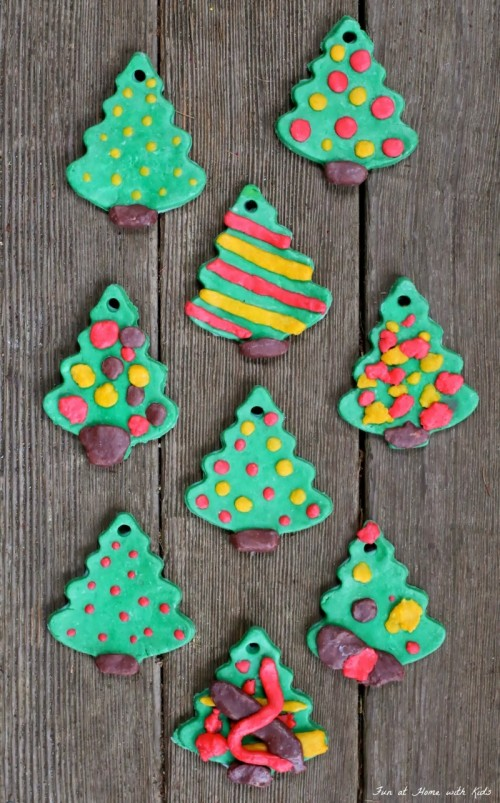 bread clay ornaments (via funathomewithkids)