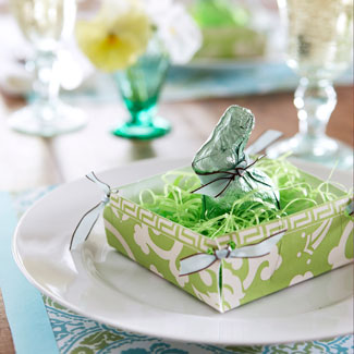Easter Table Place Setting Ideas